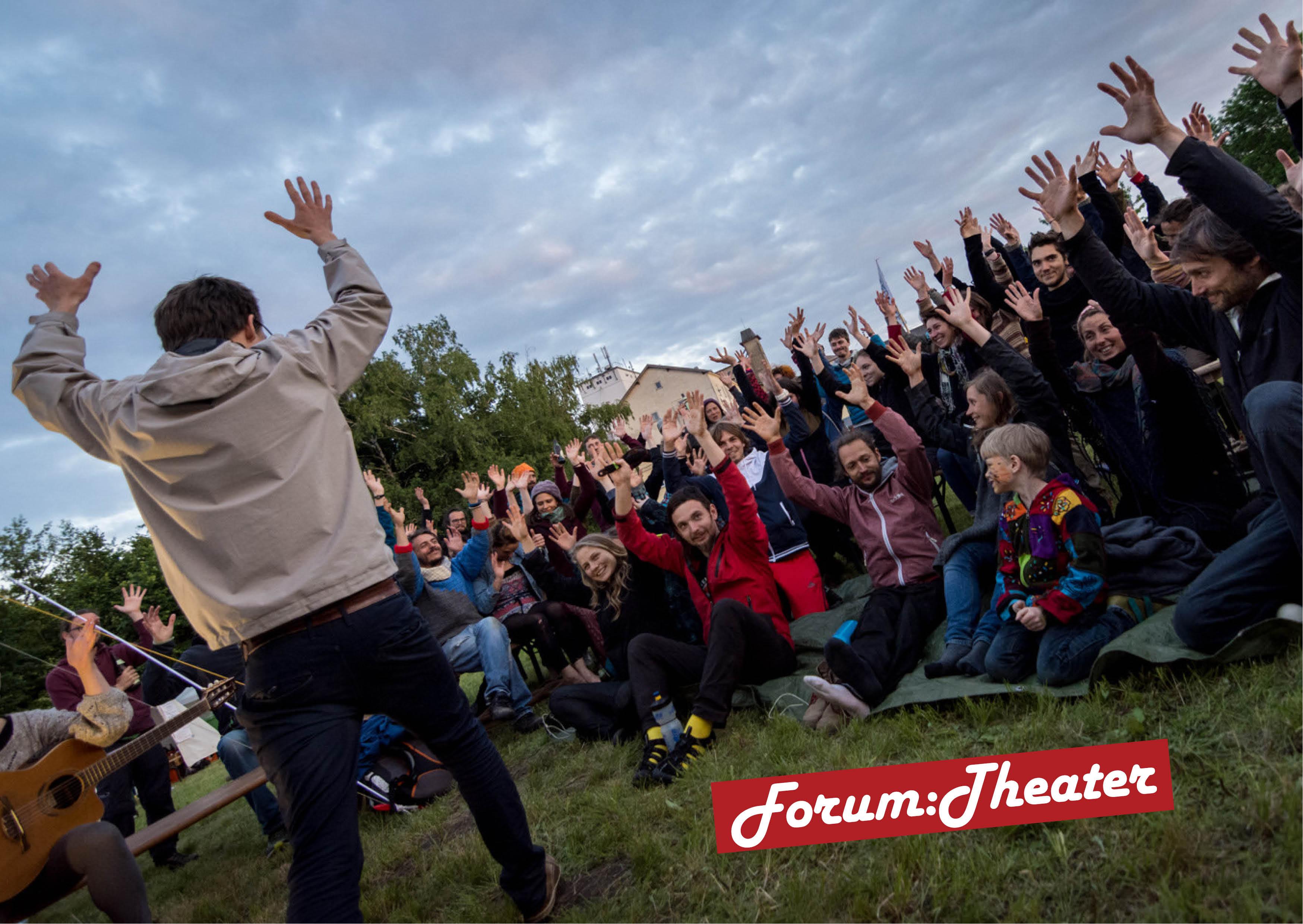 Vorderseite Flyer Forumtheaterreihe