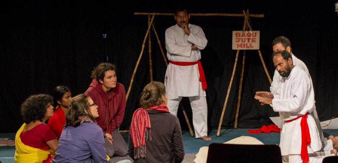 Interventionen in einem Forumtheaterstück