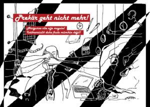 """""""Ich will von meiner Kunst leben können!"""" @ WUK, Flieger (barrierefrei)"""